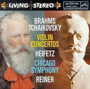 海菲兹 Heifetz 勃拉姆斯 柴科夫斯基 小提琴协奏曲 Brahms...