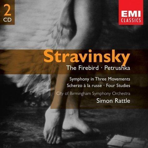 Simon Rattle 斯特拉文斯基 火鸟,彼得鲁什卡 Stravinsky ...