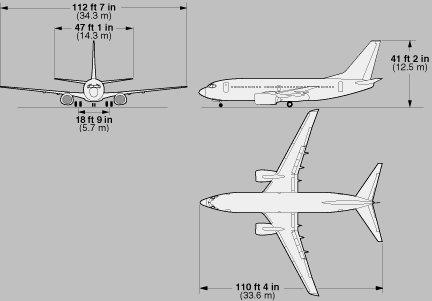 《大陆航空公司-波音737飞行手册》(continental airlines - boeing