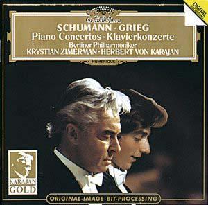 舒曼,格里格,a小调钢琴协奏曲