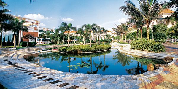 国外水景住宅景观设计素材
