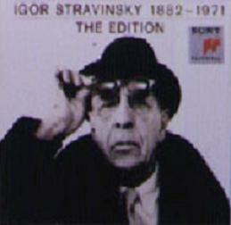 Stravinsky 斯特拉文斯基录音作品全集 Igor Stravinsky ...