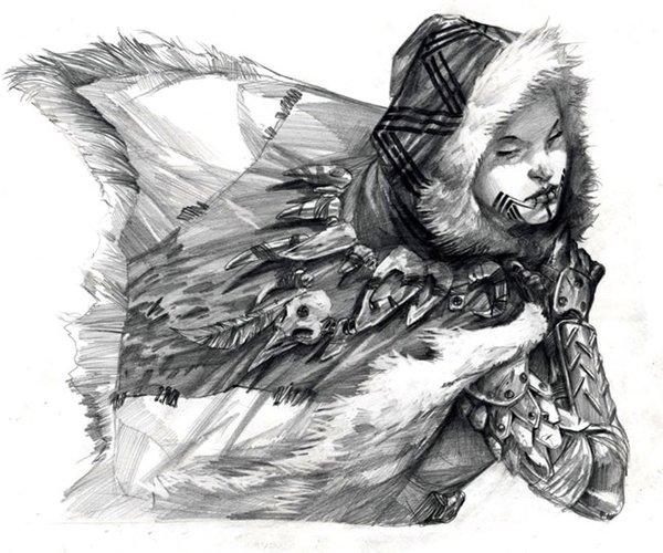 《极品概念手绘艺术创意设计》(marko djurdjevic character ideation